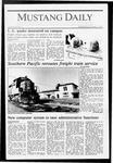 Mustang Daily, October 7, 1987