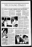 Mustang Daily, October 8, 1987