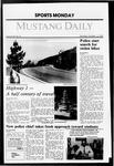 Mustang Daily, October 12, 1987