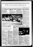 Mustang Daily, October 13, 1987
