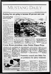 Mustang Daily, October 14, 1987