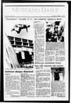 Mustang Daily, October 16, 1987