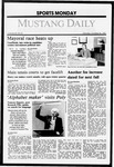 Mustang Daily, October 26, 1987