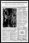 Mustang Daily, October 27, 1987