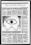 Mustang Daily, October 28, 1987