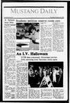 Mustang Daily, October 29, 1987