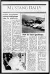 Mustang Daily, October 30, 1987