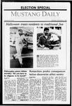Mustang Daily, November 2, 1987