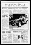 Mustang Daily, November 3, 1987