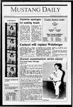 Mustang Daily, November 4, 1987