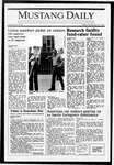 Mustang Daily, November 13, 1987