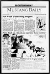 Mustang Daily, November 16, 1987