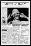 Mustang Daily, November 18, 1987