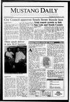 Mustang Daily, November 19, 1987