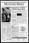 Mustang Daily, November 20, 1987