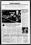 Mustang Daily, November 23, 1987