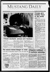 Mustang Daily, November 24, 1987