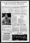 Mustang Daily, December 3, 1987
