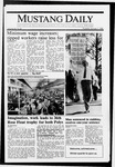 Mustang Daily, January 7, 1988
