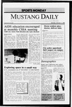 Mustang Daily, January 11, 1988