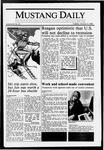 Mustang Daily, January 12, 1988