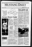 Mustang Daily, January 13, 1988