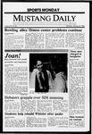 Mustang Daily, January 25, 1988