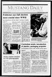 Mustang Daily, May 11, 1988