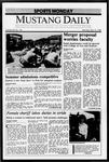 Mustang Daily, May 16, 1988