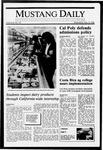 Mustang Daily, May 18, 1988