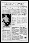 Mustang Daily, May 19, 1988