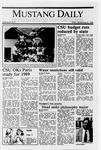 Mustang Daily, September 23, 1988