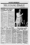 Mustang Daily, September 26, 1988