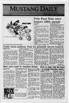 Mustang Daily, October 7, 1988