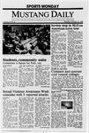 Mustang Daily, October 10, 1988