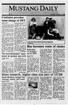 Mustang Daily, October 11, 1988