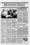 Mustang Daily, October 12, 1988