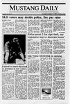Mustang Daily, October 13, 1988