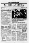 Mustang Daily, October 17, 1988