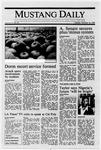 Mustang Daily, October 18, 1988
