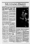 Mustang Daily, October 20, 1988