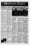 Mustang Daily, October 21, 1988