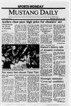 Mustang Daily, October 24, 1988
