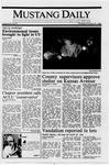 Mustang Daily, October 27, 1988