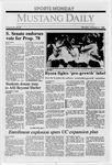 Mustang Daily, October 31, 1988