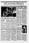 Mustang Daily, November 1, 1988