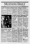 Mustang Daily, November 3, 1988