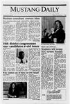 Mustang Daily, November 4, 1988