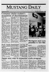 Mustang Daily, November 7, 1988
