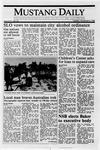 Mustang Daily, November 8, 1988
